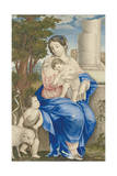 Madonna and Child, 1682-83 Giclee Print by Muhammad Zaman