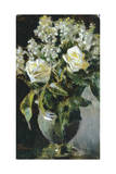 Vase of Flowers Giclee Print by Telemaco Signorini