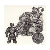 The Story of Armour Giclee Print by Pat Nicolle