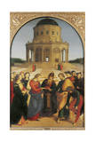 The Marriage of Virgin Giclee Print by  Raphael