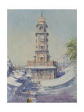 Clock Tower, Jodhpur, 2013 Giclee Print by Tim Scott Bolton