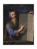 Moses with the Tablets of the Law, 1663 Giclee Print by Philippe De Champaigne