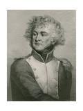 General Jean Baptiste Kleber Giclee Print by Paulin Jean Baptiste Guerin
