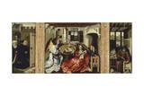 Annunciation of Merode Giclée-Druck von Rogier van der Weyden