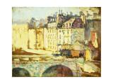 Paris, Le Pont Neuf Giclee Print by Maximilien Luce