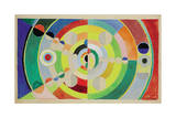 Relief-Disques, 1936 Reproduction procédé giclée par Robert Delaunay