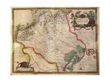 Regionum Italiae, Territory of Treviso, Veneto Region, Italy Giclee Print by Willem Janszoon Blaeu