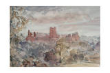 Richmond Castle, Yorkshire, 1903 Giclee Print by Philip Wilson Steer