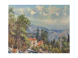 Bhutia Busty Monastery, Darjeeling Giclee Print by Tim Scott Bolton