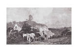 The Suffolk Plough, C.1753 Giclee Print by Thomas Gainsborough