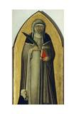 Blessed Humility, Detail from Altarpiece of Blessed Humility Giclee Print by Pietro Lorenzetti