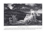 The Eruption of Vesuvius 79 AD Giclee Print by Louis Hector Leroux