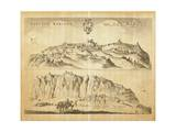 View of San Marino Giclee Print by Pierre Mortier