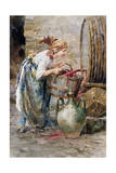 In the Wine Cellar Giclee Print by Vicenzo Irolli