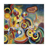 Homage to Bleriot, 1914 Giclee Print by Robert Delaunay