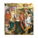 Adoration of the Magi, C.1475 Giclee Print by Martin Schongauer