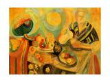 Pouring, 1915-16 Giclee Print by Robert Delaunay