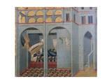 Sobac, Elijah's Father's Dream Giclée-tryk af Pietro Lorenzetti