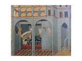 Sobac, Elijah's Father's Dream Giclee Print by Pietro Lorenzetti