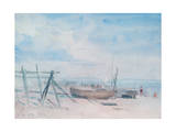 Low Tide, Walmer Beach, 1934 Giclee Print by Philip Wilson Steer