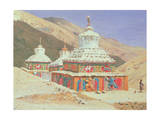 The Death Memorial in Ladakh, 1875 Giclée-Druck von Vasili Vasilievich Vereshchagin