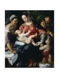 Holy Family Giclee Print by Prospero Fontana