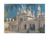 Gate, the Palace, Mysore, 2011 Giclee Print by Tim Scott Bolton