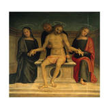 Lamentation over the Dead Christ Giclee Print by  Perugino