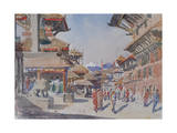 Patan, Kathmandu, Nepal Giclee Print by Tim Scott Bolton