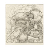 Aeneas Slaying Mezentius, 1873 Giclee Print by Sir Edward Coley Burne-Jones