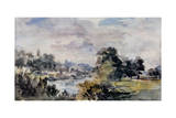 View Near Bridgnorth, C.1925 Giclee Print by Philip Wilson Steer
