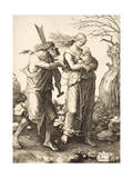The Expulsion from Paradise, 1510 Giclee Print by Lucas van Leyden