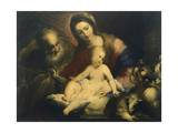 The Holy Family Giclee Print by Valerio Castello