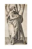 St. Andrew Giclee Print by Lucas van Leyden