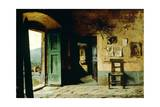 Interior of Rural Dwelling Giclee Print by Pietro Saltini