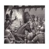 Duke Federigo Locked Out of Urbino Giclee Print by Pat Nicolle