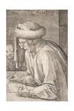 St. Mark, 1518 Giclee Print by Lucas van Leyden