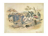 Might Versus Right, C.1861 Giclee Print by Samuel Thomas Gill
