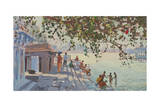 Bathers, Udaipur Giclee Print by Tim Scott Bolton