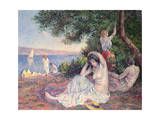 Women Bathing Giclee Print by Maximilien Luce