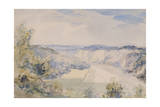 The Wye Above Chepstow, C.1905 Giclee Print by Philip Wilson Steer