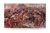 Edward 111's Encounter with Godemur De Fay Giclee Print by Sir John Gilbert