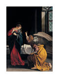 The Annunciation, 1633 Giclee Print by Orazio Gentileschi