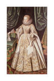 Anne Cecil, Countess of Stamford, C.1614 Giclee Print by William Larkin