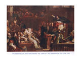 The Preaching of John Knox before the Lords of the Congregation in June 1559 Giclee Print by Sir David Wilkie