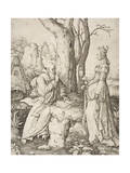 Temptation of St. Anthony, 1509 Giclee Print by Lucas van Leyden