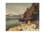 Sea and Rocks, Agay, 1893 Giclee Print by Maximilien Luce