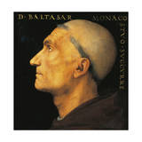Portrait of Monk Balthazar of Vallombrosa Abbey Giclee Print by Pietro Perugino
