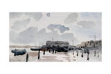 The Quay, Shoreham, 1926 Giclee Print by Philip Wilson Steer