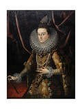 The Infanta Isabella Clara Eugenia of Spain, 1599 Giclee Print by Juan Pantoja De La Cruz